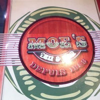 Photo taken at Moe's Deli & Bar by Alan P. on 4/28/2012