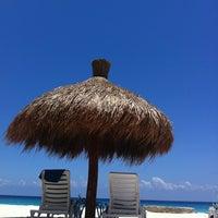 Photo taken at El Cozumeleño Beach Resort by Martin L. on 6/14/2012