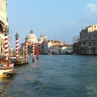Photo taken at Canal Grande by Anna T. on 3/18/2012