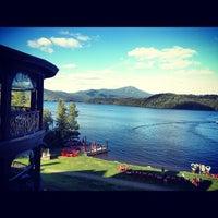 Photo taken at Lake Placid Lodge by Eric H. on 8/18/2012