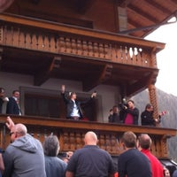 Photo taken at Trofana Alm by Angie S. on 4/29/2012