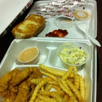 Photo taken at Raising Cane's Chicken Fingers by Graves S. on 3/14/2012