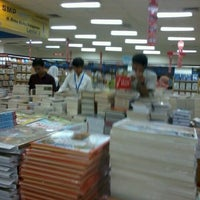 Photo taken at Gramedia by Devy R. on 8/30/2012