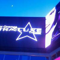 Photo taken at UltraLuxe Anaheim Cinemas at GardenWalk by Ultraluxe A. on 5/27/2012