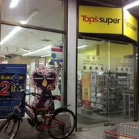 Photo taken at Tops super by Peter M. on 7/3/2012