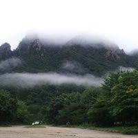 Photo taken at Sorak Cable Car by Shin Y. on 8/24/2012