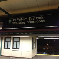 Photo taken at MTA Subway - Parkchester (6) by Darius S. on 7/21/2012