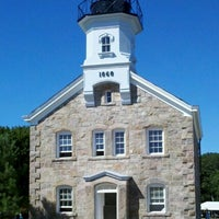 Photo taken at Sheffield Island Lighthouse by Michael M. on 7/21/2012