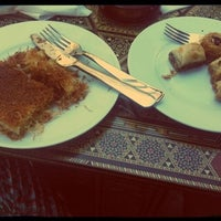 Photo taken at Al Melook Sweets by Andreea T. on 7/2/2012