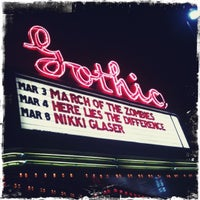 Photo taken at The Gothic Theatre by Jaime W. on 3/4/2012