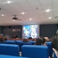 Foto tomada en ESIC Valencia por Fernando L. el 5/23/2012