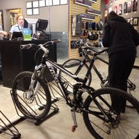Photo taken at Mad Dog Cycles by Ben B. on 4/2/2012