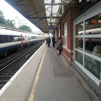 Photo taken at Basingstoke Railway Station (BSK) by Shaun S. on 7/10/2012