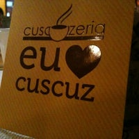 Photo taken at Cuscuzeria by Giovani B. on 4/11/2012
