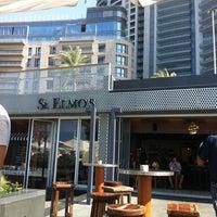 Photo taken at St. Elmo's  Seaside Brasserie by Ciaran O. on 5/6/2012