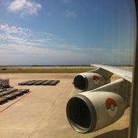 Photo taken at Gate 35 by Nanae O. on 3/4/2012