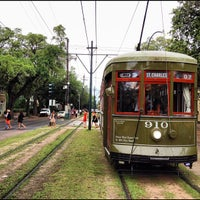 Photo taken at St. Charles Streetcar by Ryan L. on 5/19/2012