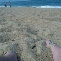 Photo taken at Hillcrest Beach by Serottared on 7/9/2012