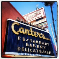 Photo taken at Canter's Delicatessen by Brian K. on 7/21/2012
