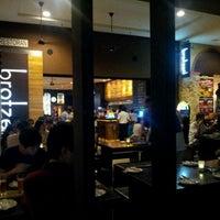 Photo taken at Brotzeit German Bier Bar & Restaurant by Yan Kit T. on 12/23/2011