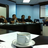Photo taken at Melor meeting Room@PBJV by Mr Kam on 5/23/2012