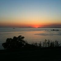 Photo taken at Saronida Beach by n1komag on 6/14/2012