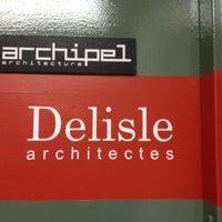 Photo taken at Archipel Architecture by Karine L. on 6/8/2012