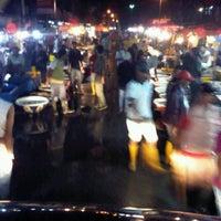 Photo taken at Perkampungan Nelayan Muara Angke by Jordy R. on 12/2/2011