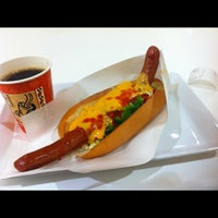 Photo taken at HOT DOG RIZU by げっぺい じ. on 1/28/2012