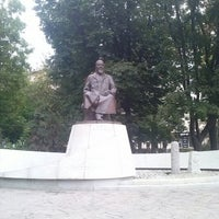 Photo taken at Abay Kunanbayev Monument by XBOCT on 8/16/2012
