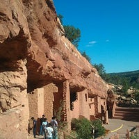 Photo taken at Manitou Cliff Dwellings by Dave G. on 9/4/2011