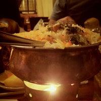 Photo taken at Bukhara Restaurant by Ftma Þ. on 8/20/2012