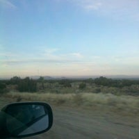 Photo taken at CA-138 (Pearblossom Hwy) by Desiree G. on 1/1/2012