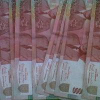 Photo taken at Bank BRI Sedati by Ester K. on 11/1/2011