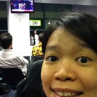 Photo taken at Gate D36 by Andi T. on 8/5/2011