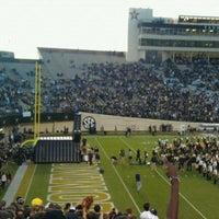 Photo taken at Vanderbilt Stadium - Dudley Field by Ryan H. on 10/22/2011