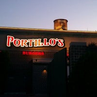 Photo taken at Portillo's Hot Dogs by Tarek J. on 6/28/2012