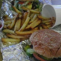 Photo taken at Five Guys by Alyssa M. on 9/8/2011