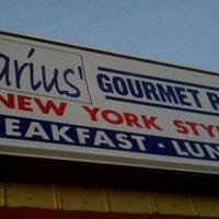 Photo taken at Marius Gourmet Restaurant by Joshua L. on 11/28/2011