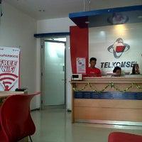 Photo taken at Gerai Halo Telkomsel by dhiana A. on 6/26/2012