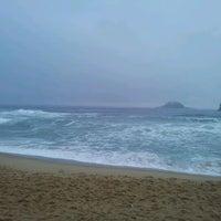 Photo taken at Sokcho Beach by Yongho A. on 9/11/2011