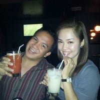 Photo taken at Luna Restobar by Sue Elaine K. on 9/24/2011