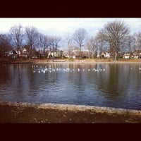 Photo taken at Bowne Park by Meli A. on 2/1/2012