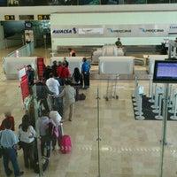 Photo taken at Aeropuerto Internacional de Tuxtla Gutierrez Ángel Albino Corzo (TGZ) by Alejandro L. on 10/31/2011
