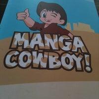Photo taken at Manga Cowboy! by Balázs M. on 4/23/2011