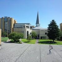 Photo taken at Aoyama Gakuin Univ. Sagamihara Campus by さとし す. on 9/9/2012