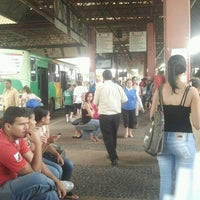 Photo taken at Terminal Rodoviário Urbano by Elisangela B. on 7/4/2012