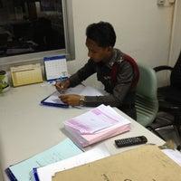 Photo taken at Lardprao Police Station by Nalida V. on 7/19/2012