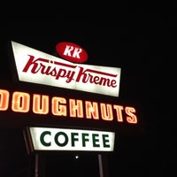 Photo taken at Krispy Kreme Doughnuts by Ryan S. on 6/18/2012