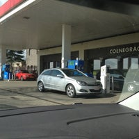 Photo taken at Esso Coenegrachts by Ronny T. on 3/11/2012